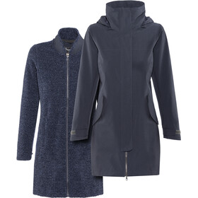 Bergans Oslo 3in1 Cappotto Donna, outer:dark navy mel/inner:dark navy mel